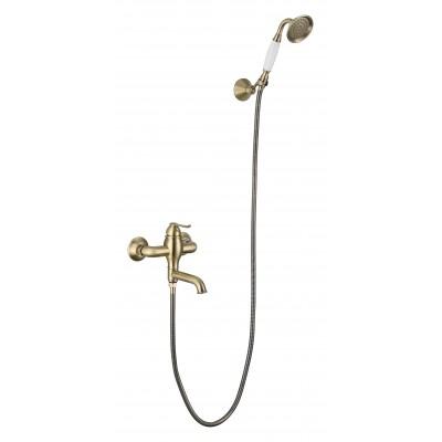 Смеситель для ванны LB-115003 bronze